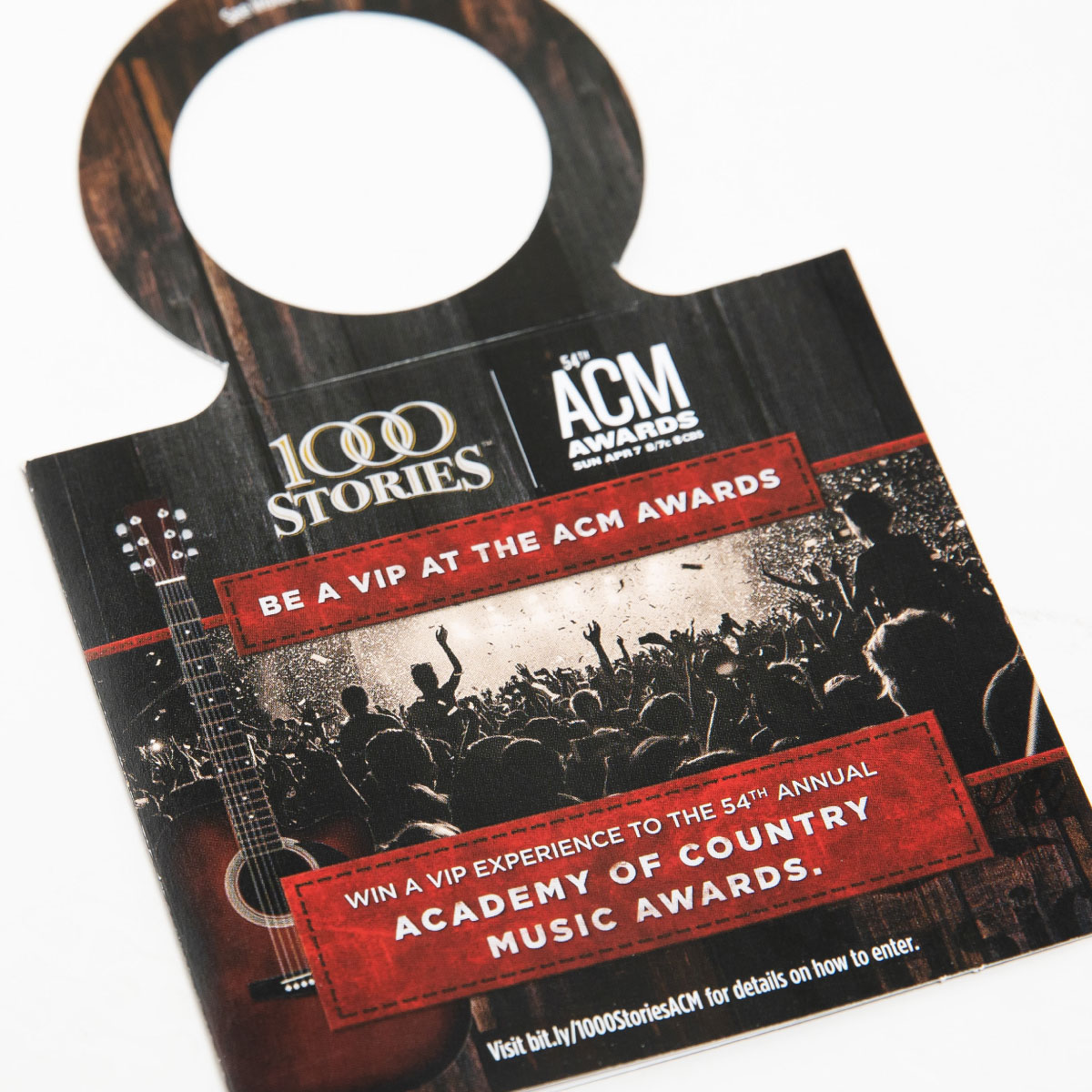 ACM Awards Printed Hanger