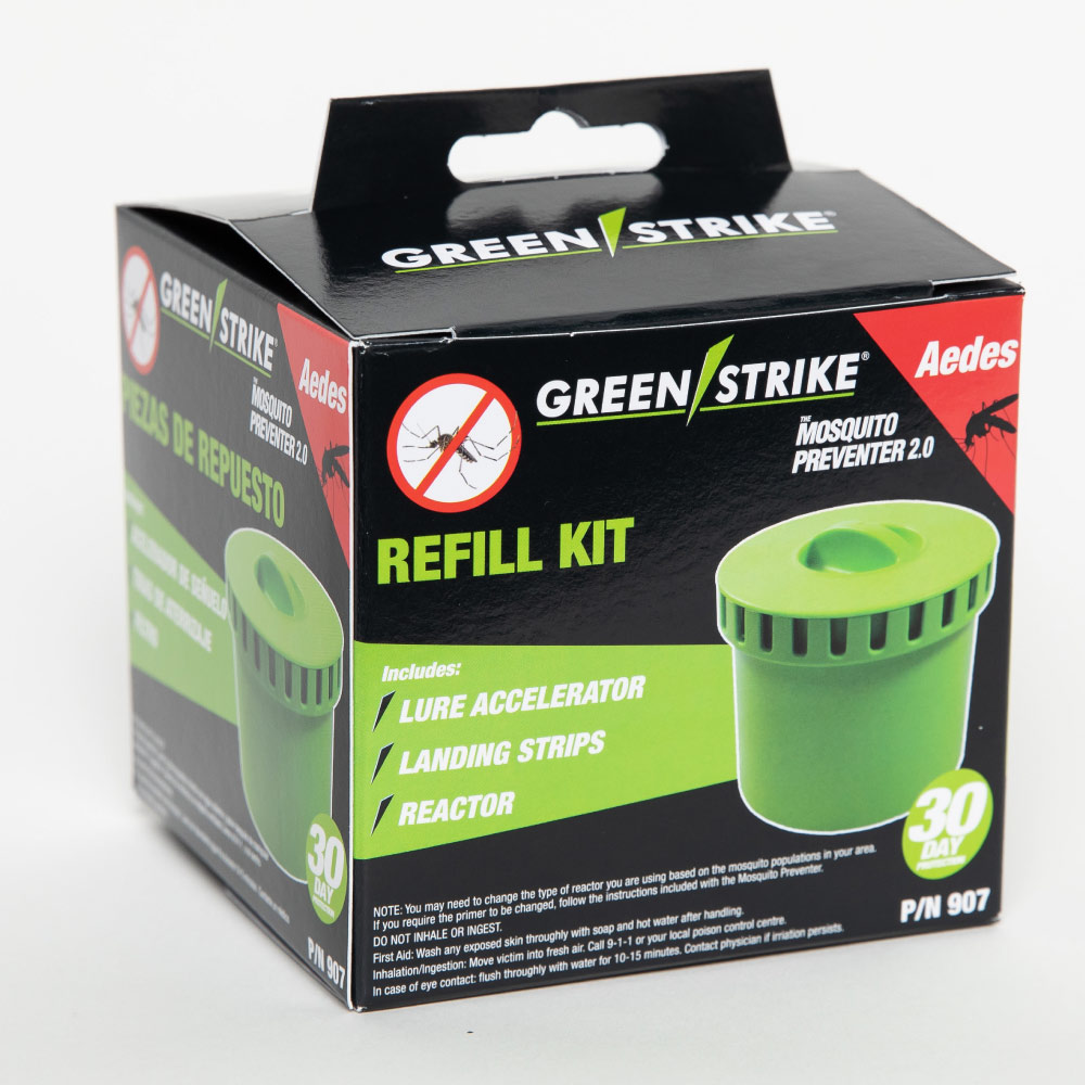 Green Strike Mosquito Repellant Packaging