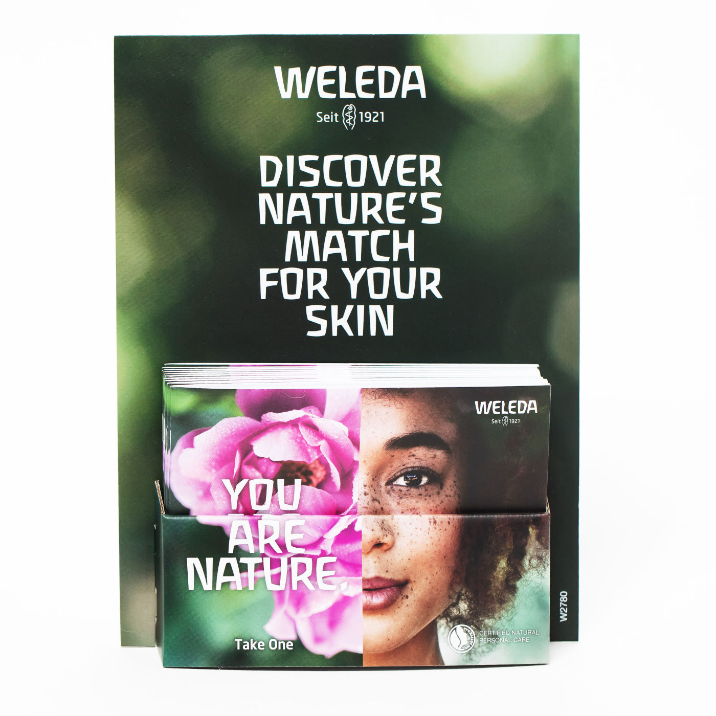 Weleda Brochure Holder